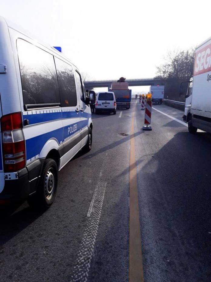 Symbolbild, Polizei, Unfall, Kontrolle, Autobahn