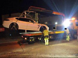 Dss Fahrzeug wurde sichergestellt (Foto: Polizei RLP)