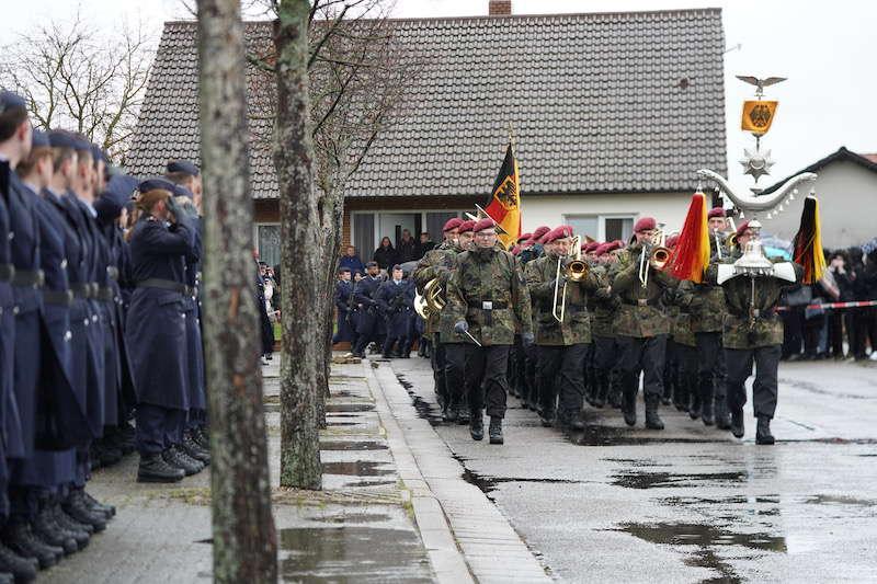 Luftwaffenausbildungsbataillon Germersheim Gelöbnis Vereidigung Westheim 2019 (Foto: Holger Knecht)