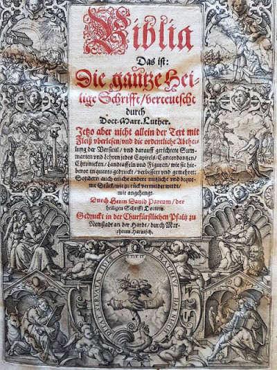 Neustadter Bibel 1594 (© Michael Landgraf)