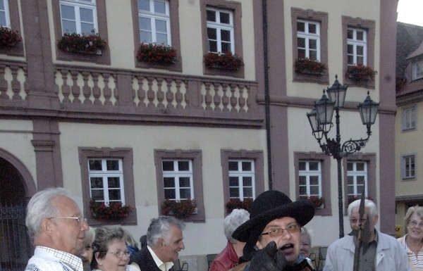 Nachtwächterführung in Neustadt (Foto: Gerhard Steinmetz)