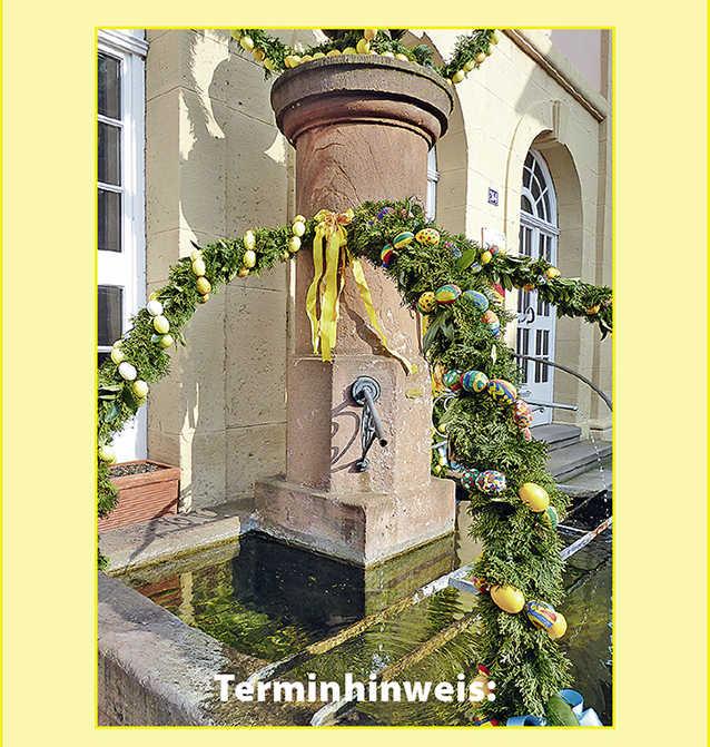 Osterbrunnenfest (Quelle: Förderverein Die Hambacher e.V.)