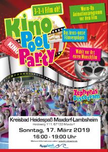 Plakat Kinospass Maxdorf Lambsheim
