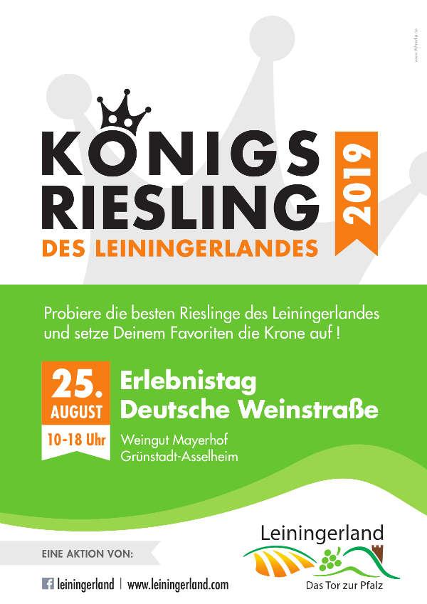 Plakat Königs-Riesling