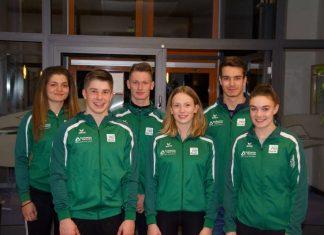 Monica Plesa, Tim Bechtold, Jochen Wiehn, Nicola Höninger, Gesine Ragwitz und Maja Miller. (Foto: Y.Hofmann/Rheinbrüder)