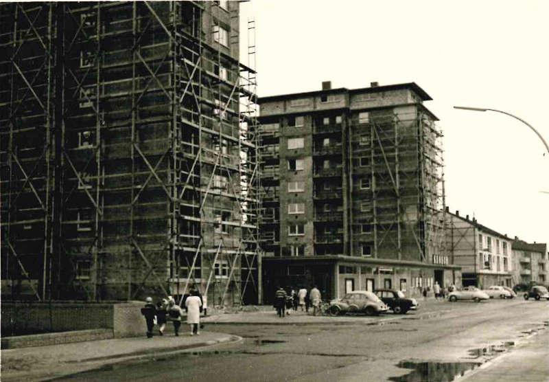 Spitalbachstraße 47-55, Frühjahr 1965 (Foto: WBG Neustadt)