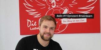 Vertragsverlängerung von Kreisläufer Freddy Stüber (Foto: Eulen Ludwigshafen)