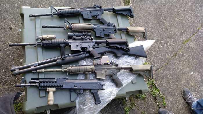 Waffenfund: Sturmgewehre
