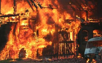 Symbolbild Gebäudebrand, Brandstiftung © pixabay