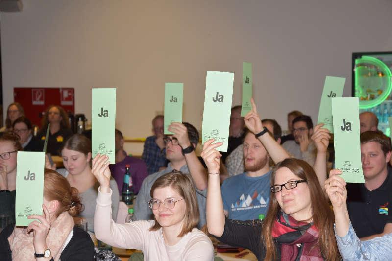 Mit überwältigender Mehrheit stimmte die Versammlung für die neue Geschäftsordnung. (Foto; LSB)