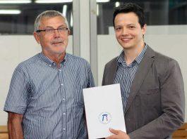 Caetano Sauer (rechts) und Prof. Theo Härder