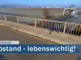 Symbolbild Polizei Abstand Quelle: Friedberg