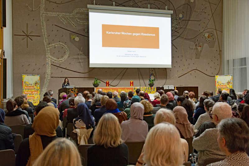 Karlsruher Wochen gegen Rassismus (Foto: Klaus Eppele)