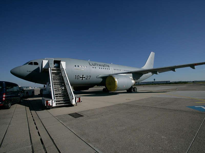 Airbus A 310 (Foto: obs/Presse- und Informationszentrum Sanitätsdienst/Dirk Bannert)