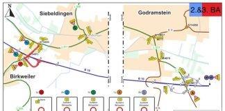 Umleitungstrecke (Quelle: LBM Speyer)