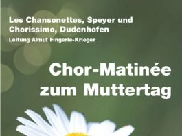 Chor-Matinée zum Muttertag
