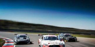 Die stärksten Tourenwagen aller Zeiten: Aston Martin Vantage DTM, Audi RS 5 DTM, BMW M4 DTM. (Foto: DTM)