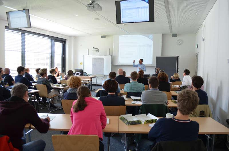 """Workshop """"Zukunftspotenziale für den Weinabsatz"""" (Foto: Weincampus Neustadt)"""
