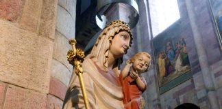 Gnadenbild der Mutter Gottes im Speyerer Dom (Foto: Klaus Landry)