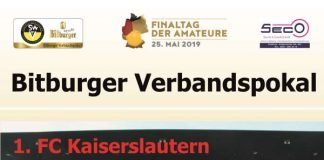 Bitburger Verbandspokalendspiel 2019