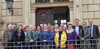 18 Religionspädagogen der Evangelischen Kirche in Österreich haben die Stadt Speyer und die Evangelische Kirche der Pfalz besucht (Foto: lk)