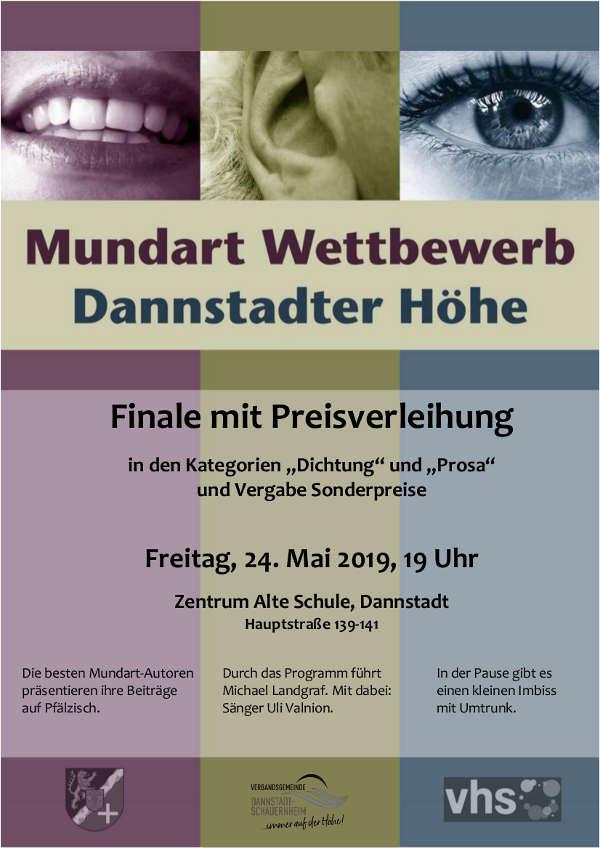 Mundart-Plakat 2019