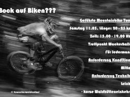 Plakat Radtouren (Quelle: FC Wacker Weidenthal)