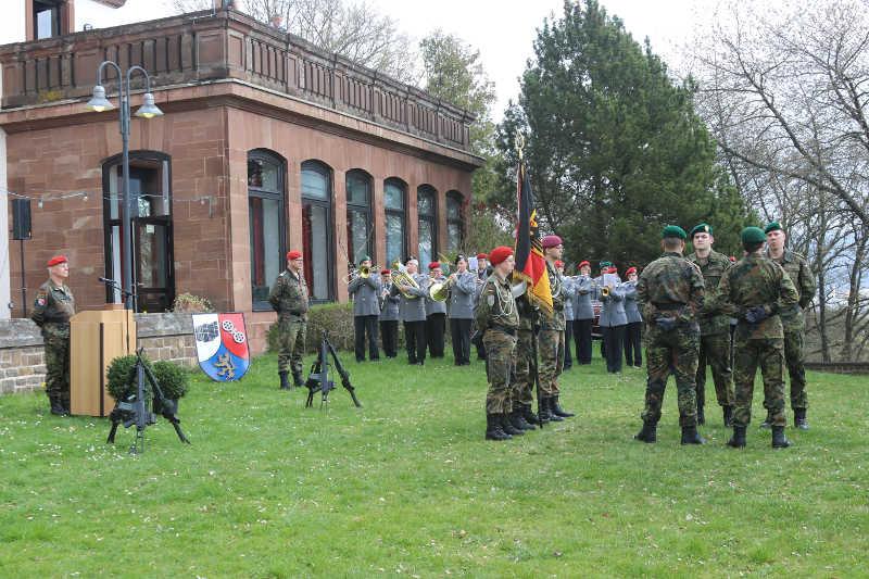 Rekrutenabordnung (Quelle: Bundeswehr/Bohn)