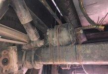 Schwerpunktkontrollen-Gefahrgut_abmontierter Bremszylinder