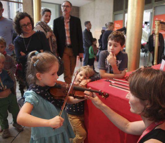 Backstage für alle! - Familientag beim hr-Sinfonieorchester und der hr-Bigband (Foto: hr/Laura Rodriguez)