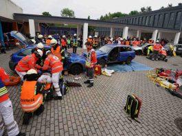 Kreis Germersheim Rheinzabern RescueWave Präsentation (Foto: Holger Knecht)