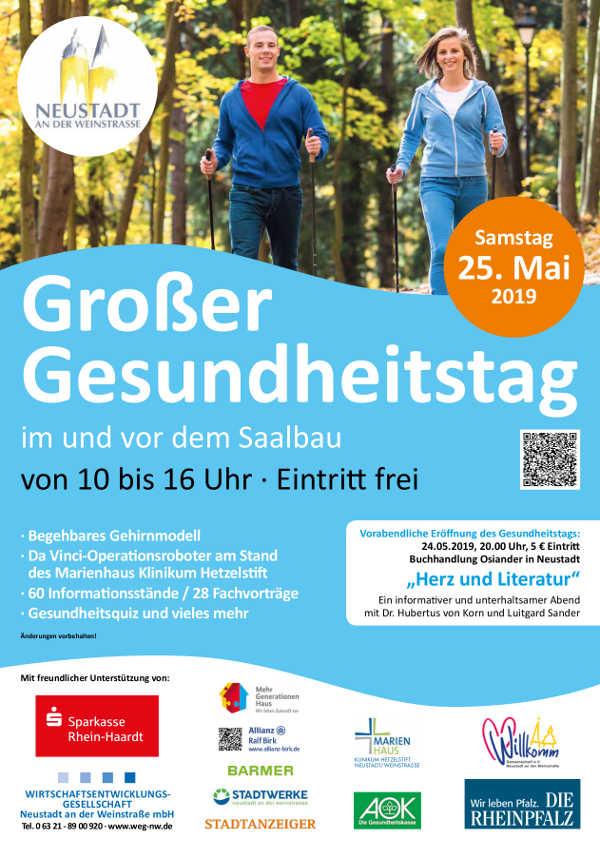 Plakat 7. Neustadter Gesundheitstag