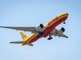 Die erste der neuen Boeing 777 Frachtmaschinen wurde am Wochenende erfolgreich in Dienst gestellt. (Foto: Deutsche Post DHL Group)