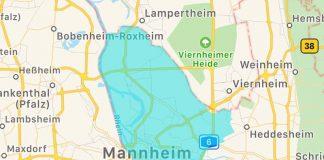 Großbrand in Mannheim Industriehafen