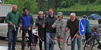 Radweg Eröffnung