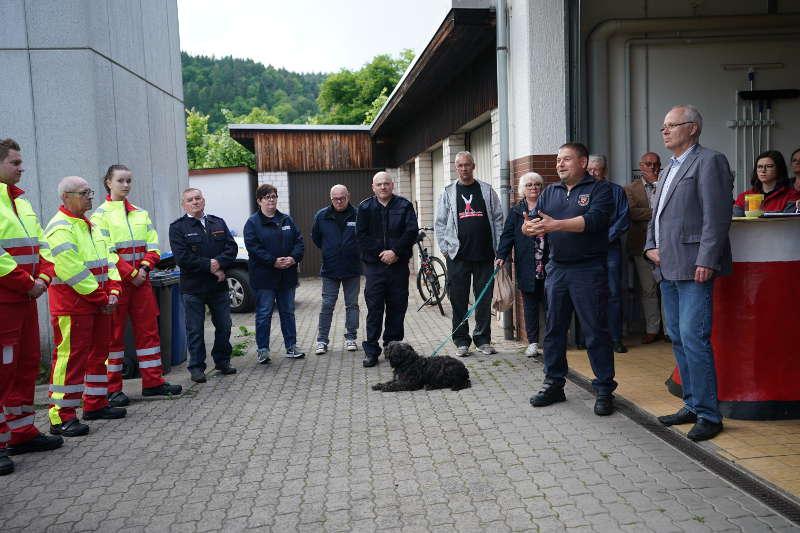 Elmstein First Responder Indienststellung 2019 (Foto: Holger Knecht)
