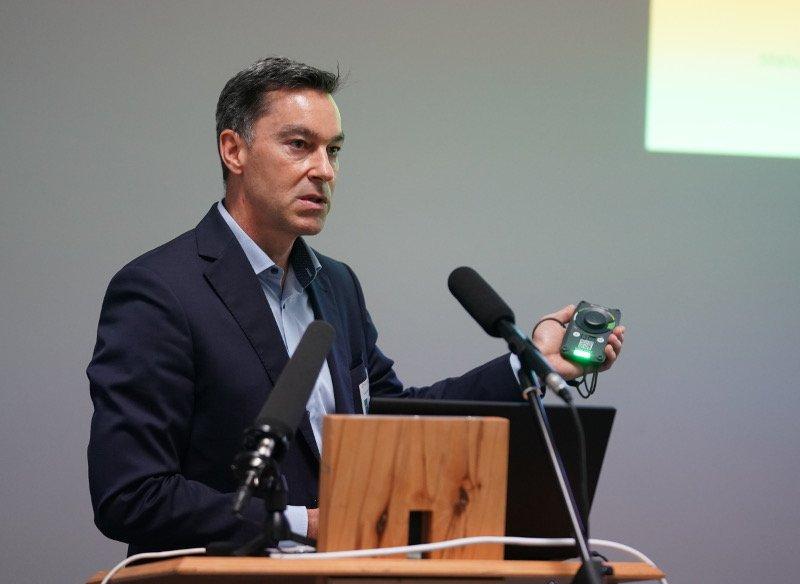 Dr. Alexander Huber, Geschäftsbereichleiter Medizintechnik, ITK Engineering (Foto: Holger Knecht)