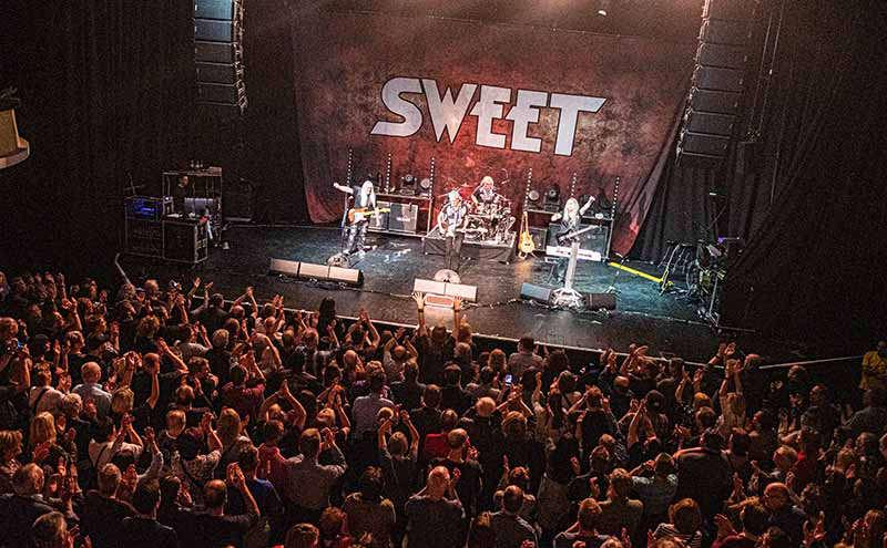 Favorit Mannheim: Rockband SWEET entführt Publikum in Glam-Rock Zeiten der VQ51
