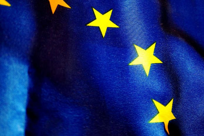 Euroflagge (Quelle: Polizei RLP)