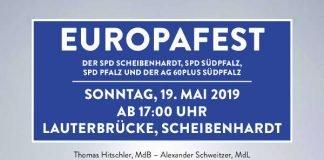 Europafest in Scheibenhardt