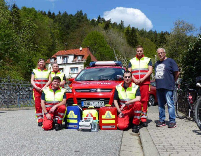 Mitglieder der First Responder Einheit (Foto: Presseteam der Feuerwehr VG Lambrecht)