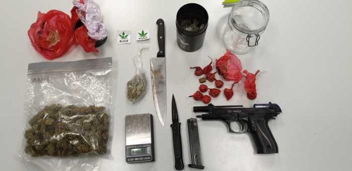 Frankfurt: Festnahme auf der Drogenszene