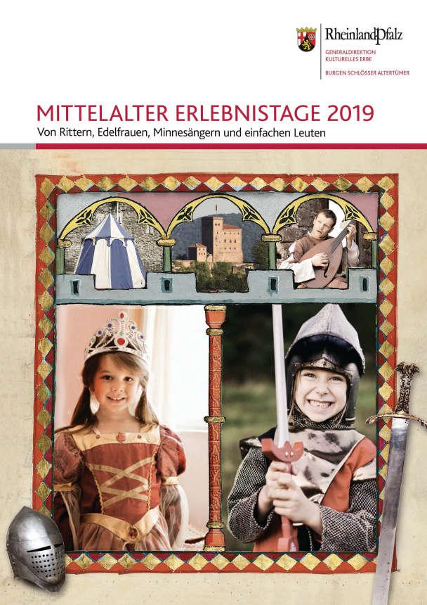 Mittelalter-Erlebnistage auf der Reichsburg Trifels (Quelle: GDKE)