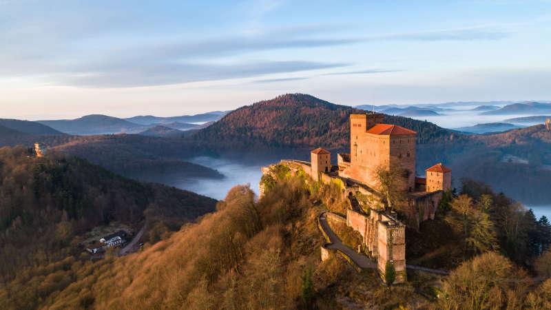 Burg Trifels (Foto: GDKE Rheinland-Pfalz)