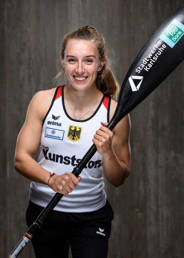 """Katinka Hofmann war die erfolgreichste """"Rheinschwester"""" in Brandenburg (©GES/Rheinbrüder)"""