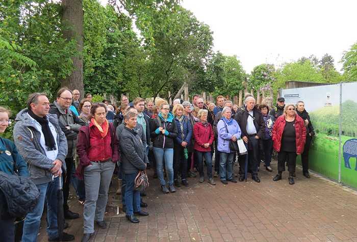 Team Elefant Heidelberg-Mitglieder trafen sich am Samstag, 11, Mai 2019, zum Aktionstag im Zoo Heidelberg
