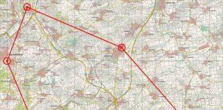 Karte zum Übungsraum (Quelle: Stadtverwaltung Bad Kreuznach)