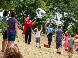 Kinderfest auf dem Hambacher Schloss (Foto: Otto Dacapo / Stiftung Hambacher Schloss)