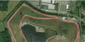 Die Laufstrecke des Energieberglaufs (Quelle: Stadtwerke Karlsruhe)