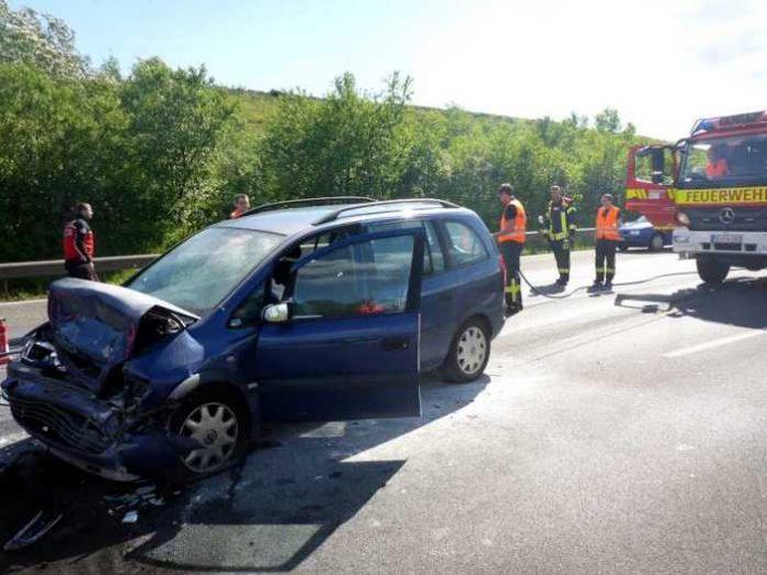 Mainz_Verkehrsunfall auf der A60 © Stadtverwaltung Mainz